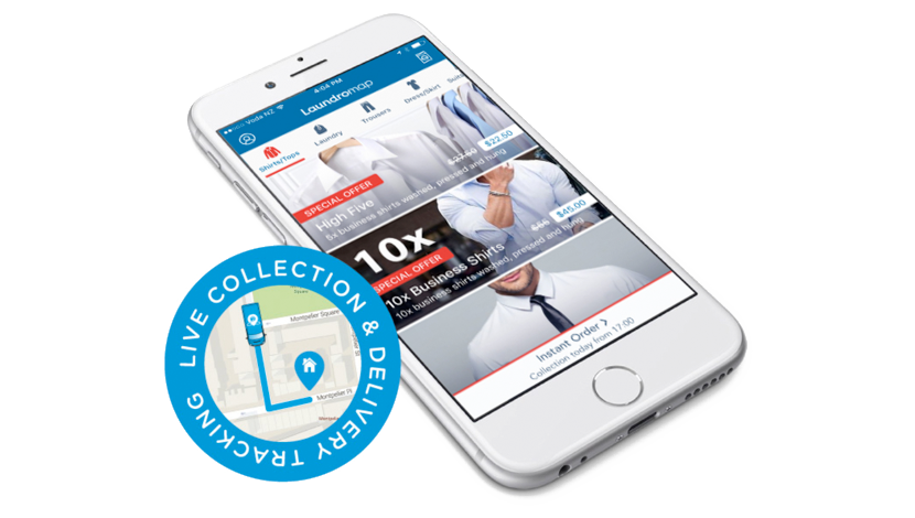 Sydney CBD Dry Cleaning & Laundry - Order online or via iOS or Android App